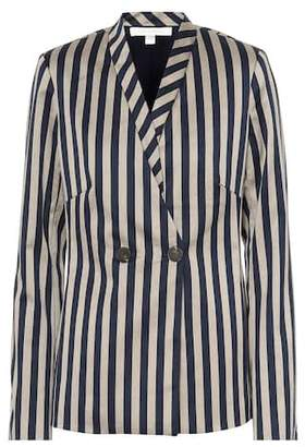 Jonathan Simkhai Striped cotton-blend blazer