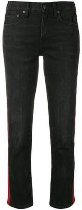 Polo Ralph Lauren contrast stripe slim jeans