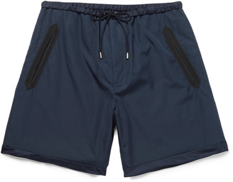 Gucci Silk Faille-Trimmed Cotton Shorts $620 thestylecure.com