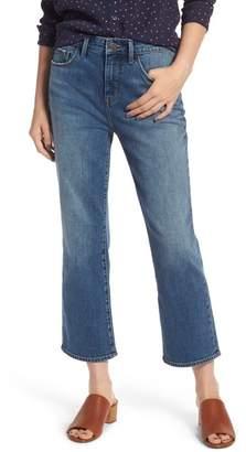 Treasure & Bond Praise High Waist Flared Crop Jeans (Gravel Dusk Vintage)