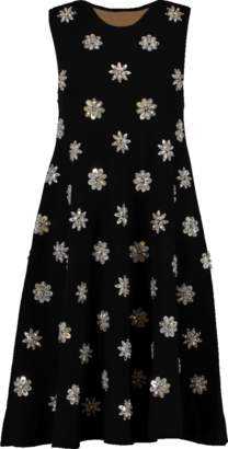 Michael Kors Embroidered Trapeze Dress