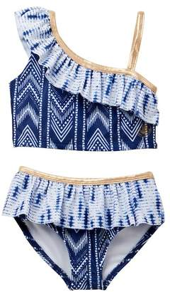 Body Glove Navy Print 2 PC Swimsuit (Toddler)