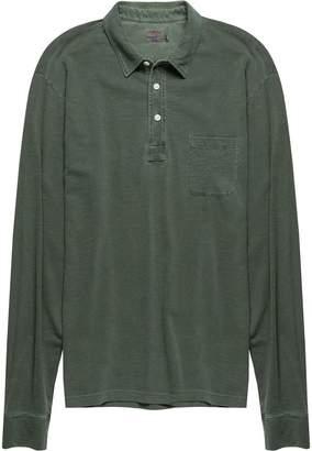 Faherty Sunwashed Long-Sleeve Polo - Men's