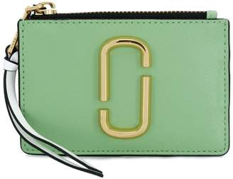 Marc Jacobs colourblock top zip purse