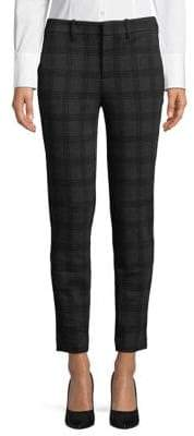 Lord & Taylor Plaid Ankle Pants