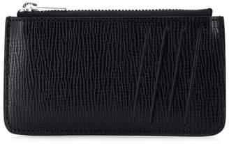 Maison Margiela number logo patch wallet