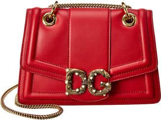 Dolce & Gabbana Amore Leather Shoulder Bag