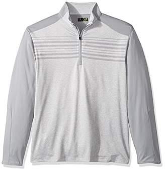 PGA TOUR Men's Elements Long Sleeve 1/4 Zip Pullovers