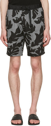 Diesel Black P-Pollack Printed Shorts $130 thestylecure.com
