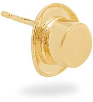 Alison Lou Yellow Gold Top Hat Single Earring - Womens - Yellow Gold