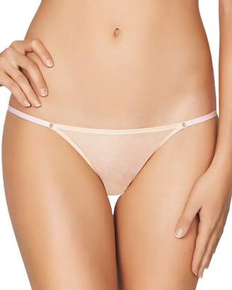 Heidi Klum Intimates Gloss Bar Mesh Bikini
