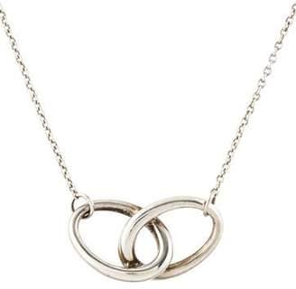 Tiffany & Co. Elsa Peretti Oval Infinity Necklace silver Elsa Peretti Oval Infinity Necklace