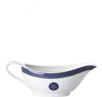 Bloomingdale's Royal Limoges Blue Star Gravy Boat