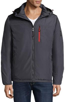 Izod S Rothschild Nylon Dobby Puffer Jacket