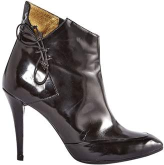 Viktor & Rolf Patent leather ankle boots