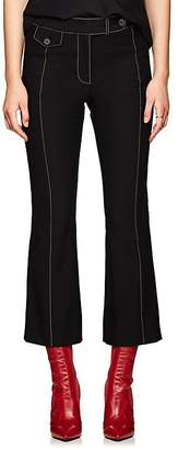 Derek Lam 10 Crosby Women's Cotton Crop Flared Trousers