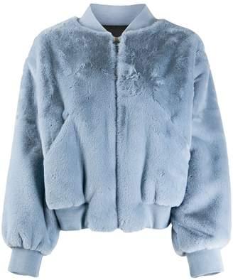 Chiara Ferragni faux fur Wink jacket