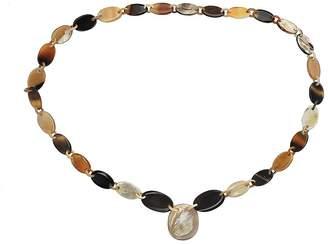 Buffalo David Bitton Marycrafts Womens Handmade Horn Fashion Chunky Long Chain Necklaces