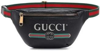 Gucci Printed leather belt bag
