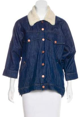 Band Of Outsiders Collar Denim Jacket