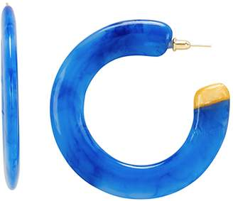 Cult Gaia Mira Cobalt Acrylic Earrings