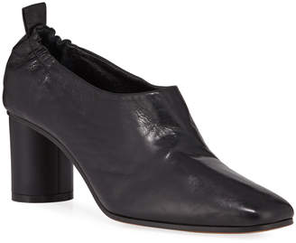Gray Matters Micol Soft Leather Pumps, Black