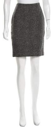 Yigal Azrouel Virgin Wool Pencil Skirt