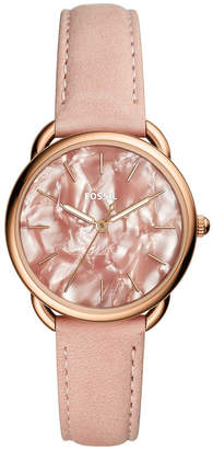 Fossil Women's Tailor Blush Leather Strap Watch 35mm
