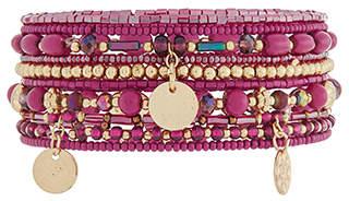 Accessorize Eclectic Stretch Bracelet Pack