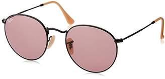 Ray-Ban Men's Metal Round Sunglasses