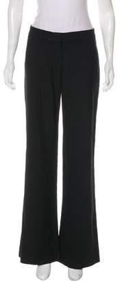 Bergdorf Goodman Mid-Rise Wool Pants