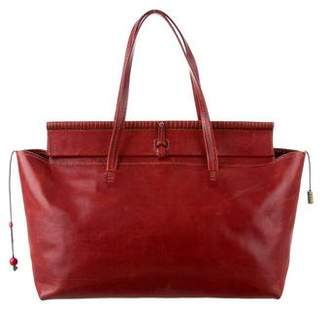 Henry Cuir Distressed Leather Tote