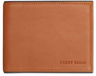 Perry Ellis Men's Portfolio Bifold Leather Wallet