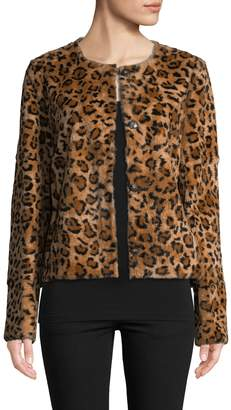 Yves Salomon Women's Rabbit Fur Jacket