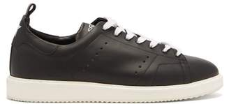 Golden Goose Starter Low Top Leather Trainers - Mens - Black White