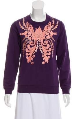 Dries Van Noten Embellished Embroidered Sweatshirt