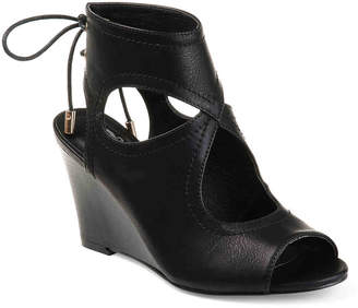 Journee Collection Camia Wedge Sandal - Women's