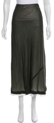 Louis Vuitton Zip-Up Midi Skirt