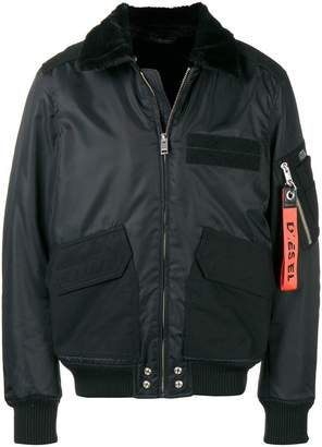 Diesel zipped up bomber jacket