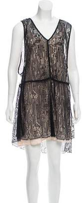Marissa Webb Lace Silk Lined Dress