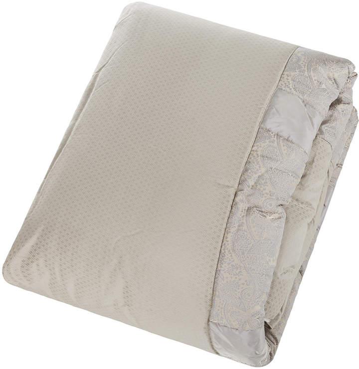 Grey Quilted Bedspread