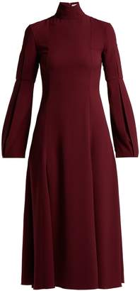 Emilia Wickstead Margorina high-neck midi dress