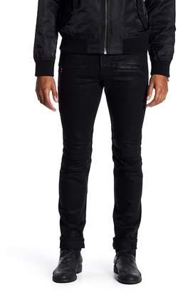 Hudson Blinder Skinny Fit Moto Jeans