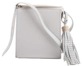Elizabeth and James Textured Leather Crossbody Bag