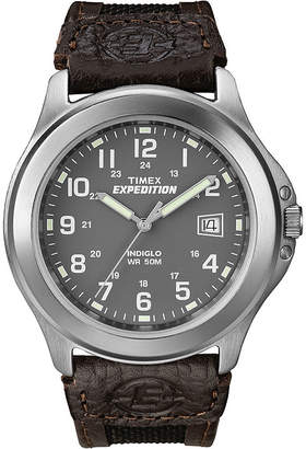 Timex Expedition Field Metal Mens Black Fabric Strap Watch T400919J