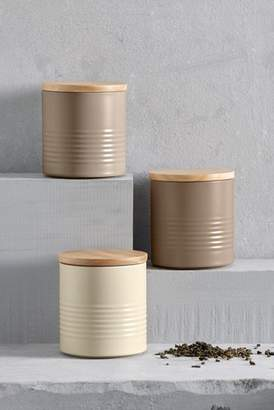 Next Set of 3 Neutral Ripple Storage Tins