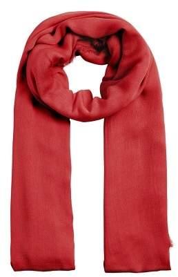 Violeta BY MANGO Frayed edge scarf