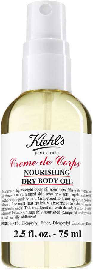 Kiehl's Since 1851 Creme de Corps Nourishing Dry Body Oil, 2.5-oz. Image