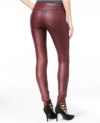 Coated Black Jeans   Who What Wear