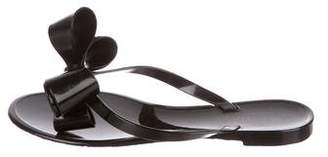 Valentino Bow Jelly Sandals w/ Tags